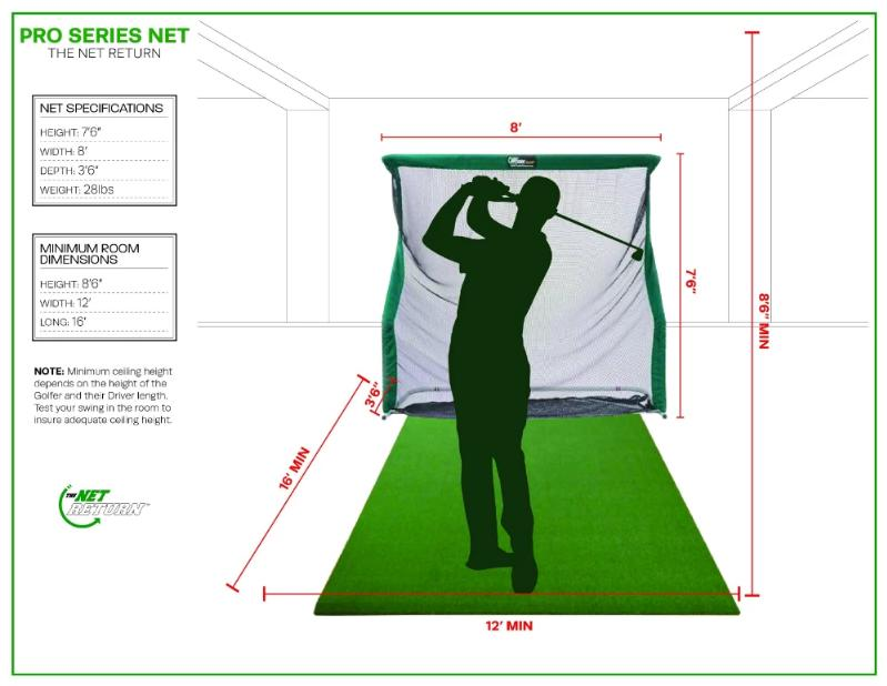 Pro Series V2 Golf and Multi-Sport Net