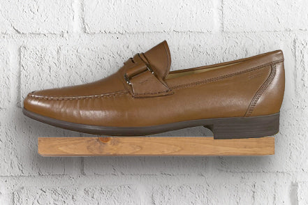 Bally Coniac Tobacco Leather Moccasin