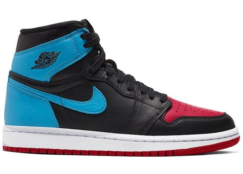 Women Air Jordan 1 UNC to Chicago Leather