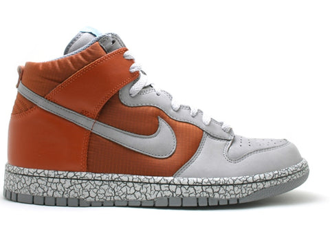 Nike Dunk High Earthquake Dark Orange