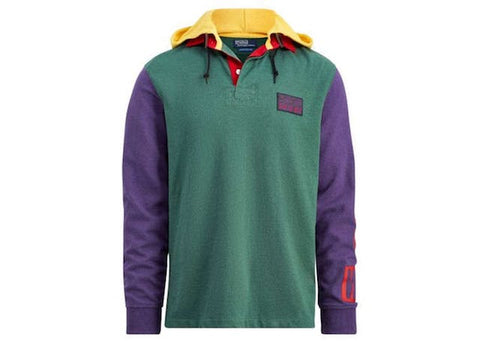 Polo Ralph Lauren Snow Beach Hooded Rugby Pine