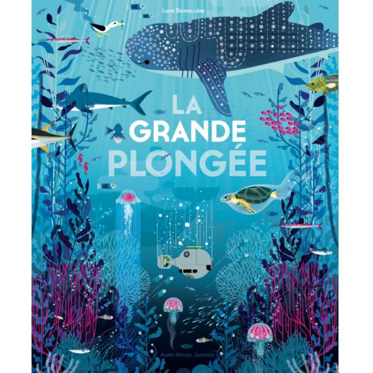 ALBIN MICHEL - french book for kids - la grande plongée