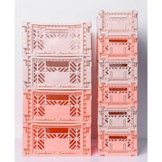 Small storage box - salmon - cute and colourful box for kids storage