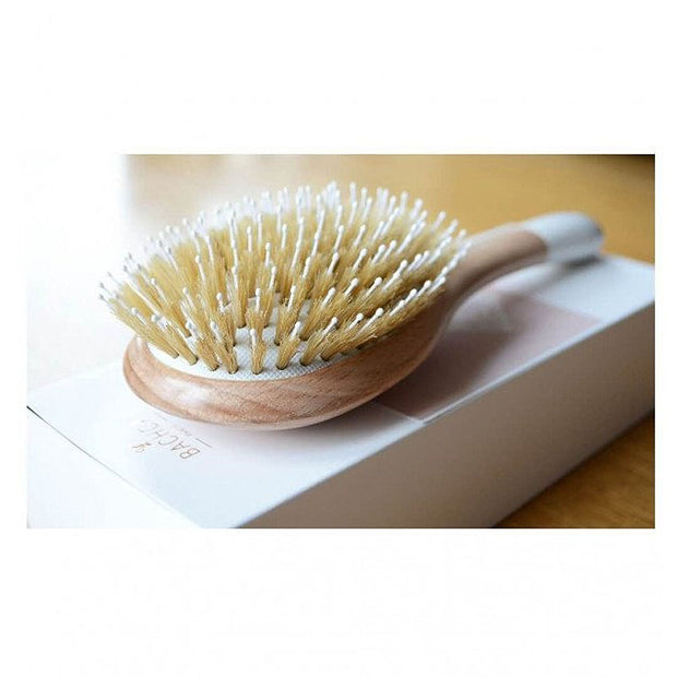 Bachca hairbrush smoothing and detangling - french blossom