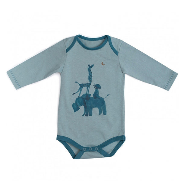 Moulin Roty baby bodysuit - Jungle