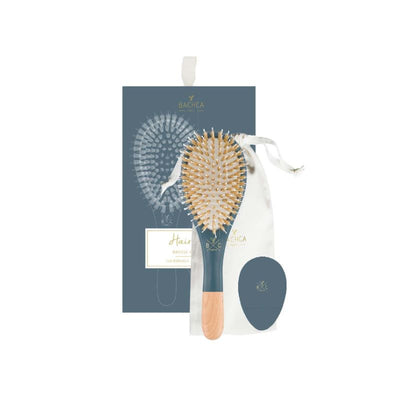 Hair brush and miror - Dark blue