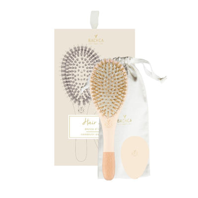 Hair brush and miror - Nude