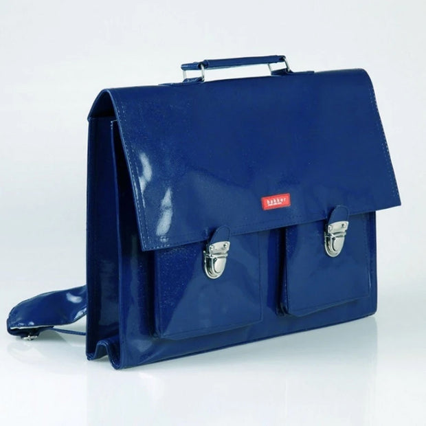 Blue satchel for children - Bakker Made With Love