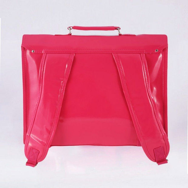 Pink satchel for children - Vinyl - BAKKER MADE WITH LOVE