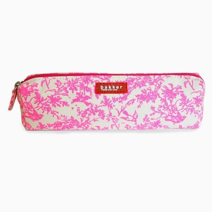 Pink pencil case - Bakker Made With Love