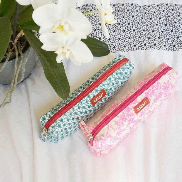 pink pencil case for children - Bakker Made with love