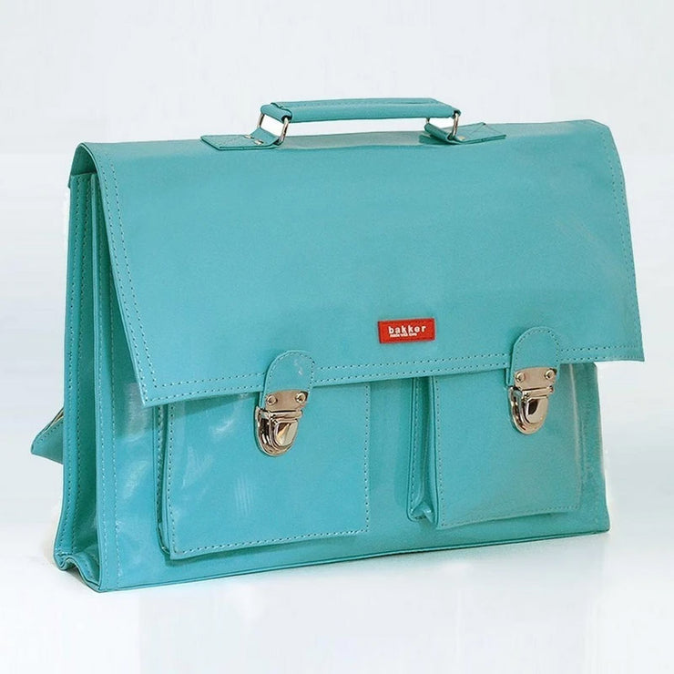 Childrens satchel sky blue - Bakker Made With Love