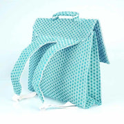 Bakker made with love - turquoise satchel for children - French Blossom