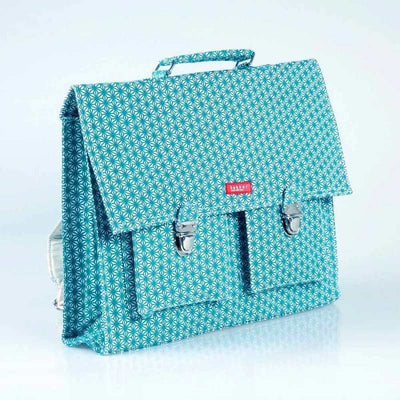 Bakker made with love - kids satchel - turquoise