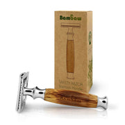 Safety razor - bamboo handle