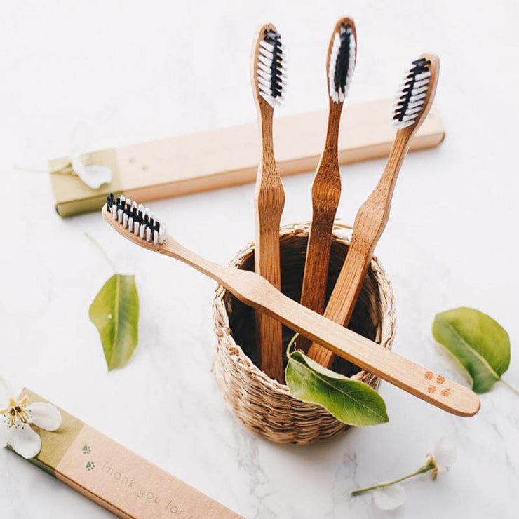 Bamboo environmentally friendly toothbrushes