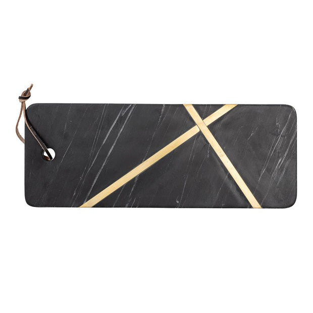 Bloomingville - amazing black marble cutting board - Elsi - elegant and practical