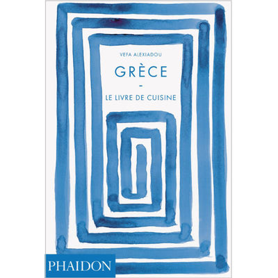"PHAIDON FRANCE - ""Grèce - le livre de cuisine"" - mediterranean recipe book from Greece"