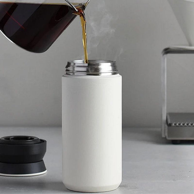 Thermos for travel tumbler - White - 350ml