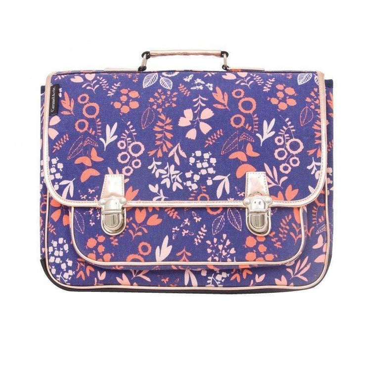 This large satchel is designed by Caramel & Cie.It will be perfect to accompany your child in her primary school life.