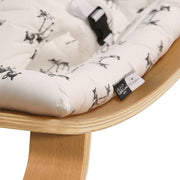A lovely baby rocker designed and made in France by Charlie Crane, perfect for for babies and their nurseries