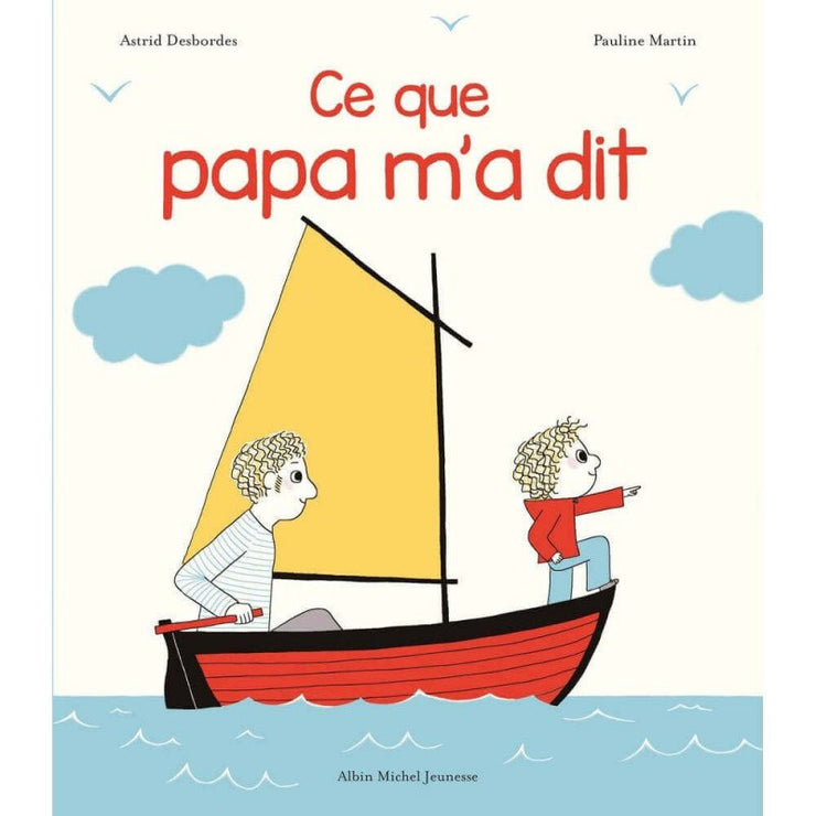 Father and child book in French - French Blossom