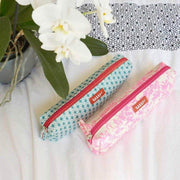 Turquoise pencil case for children - BAKKER MADE WITH LOVE
