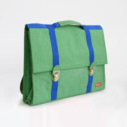 Bakker made with Love green satchel - French Blossom