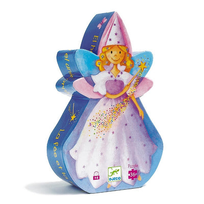 DJECO - Original puzzle - Fairy and unicorn
