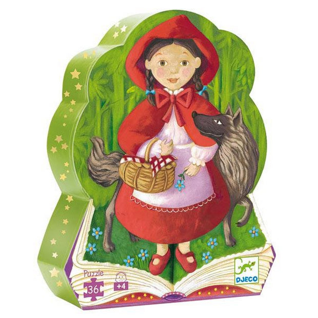DJECO - Original puzzle - Little red riding hood