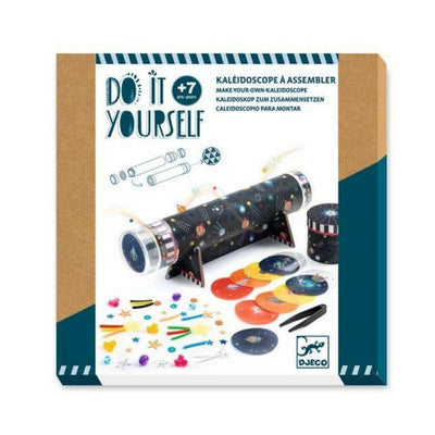 DJECO - DIY kit - Build your own kaleidoscope - Space theme