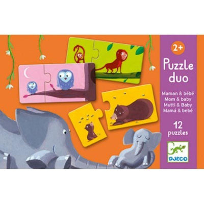 DJECO - Duo puzzle - Mum and baby