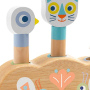 Help your baby to develop stimulation with this cute and fun babypoli toy by the french designer Djeco