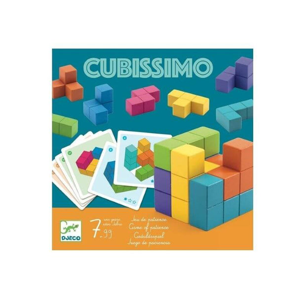 DJECO - puzzle - cubissimmo - educational activity fun and playful