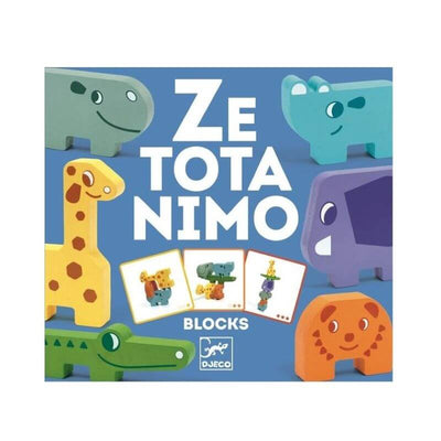 DJECO - zetotanimo - board games - construction game