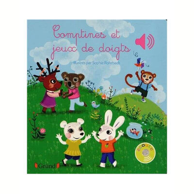 Music book - Nursery rhymes and finger games