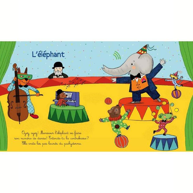 Music book - Animals carnival