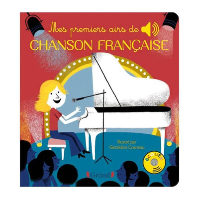 Music book - My first French songs