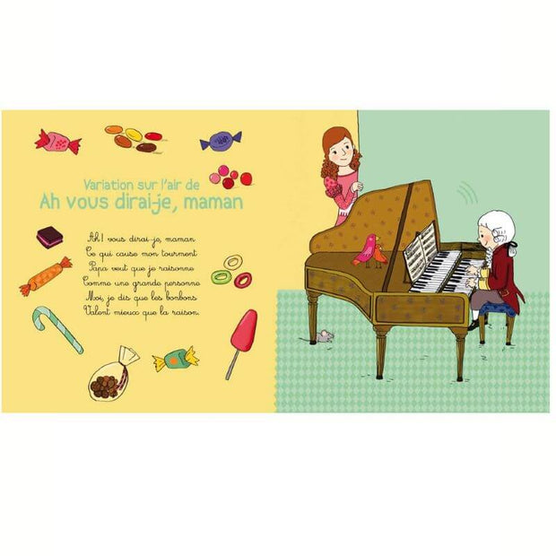Music book - My little Mozart