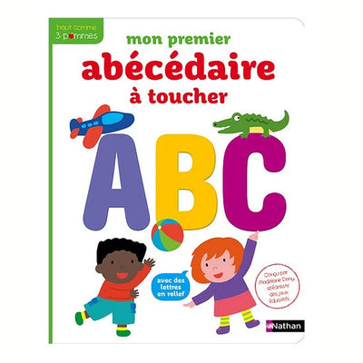 Kid's book - My first alphabet to touch