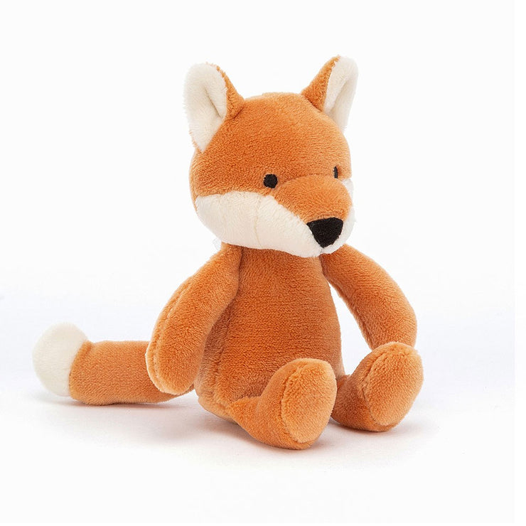Fox toy baby rattle Jellycat