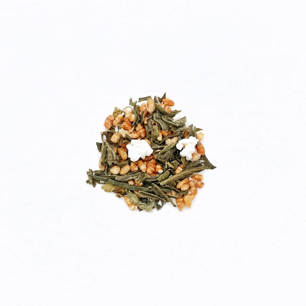 """Genmaïcha"" tea - Green tea with grilled rice"