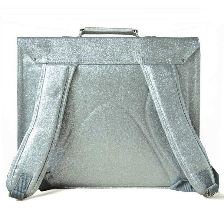 Bakker Made with Love - glitter school satchel