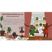 A musical day in Paris - Musical book - Grund Editions for kids