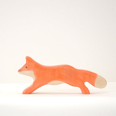 Handmade Wooden Fox