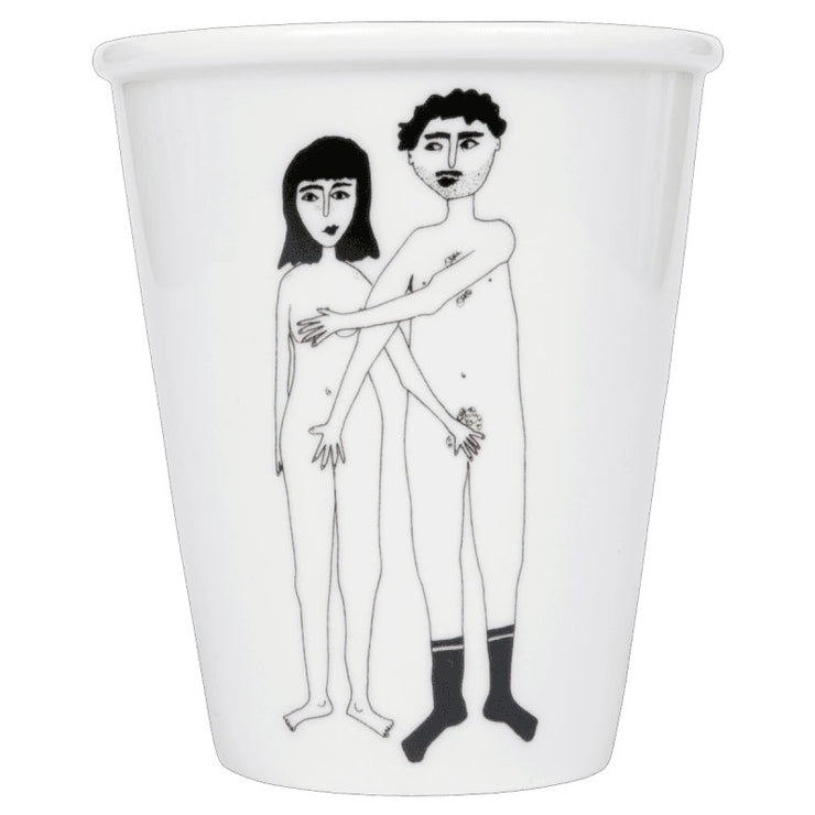 cup - Naked couple