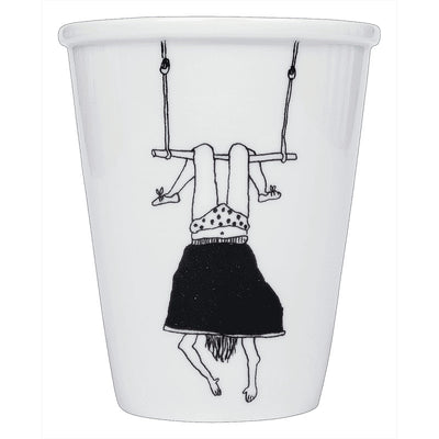 """Trapeze girl"" cup"