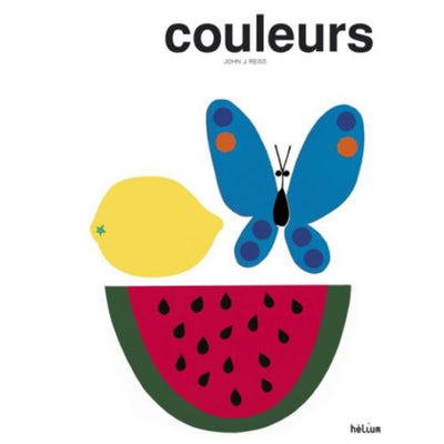 "HELIUM - french illustrated book for kids about colours - ""couleurs"""