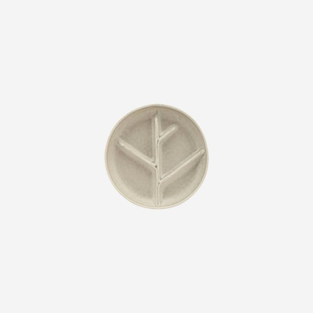 HOUSE DOCTOR - small branch plate - light grey