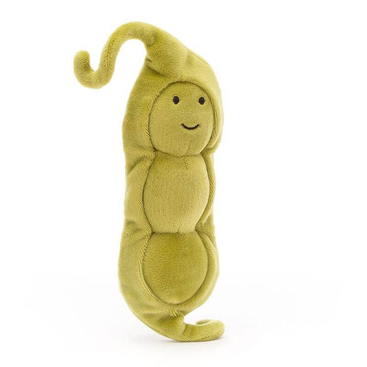 JELLYCAT - vegetable soft toy - pea - vivacious vegetable